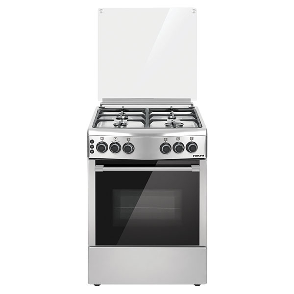 NIKAI Gas Cooker and Gas Oven Elegant Curved Design (U6066fSSPTN10)