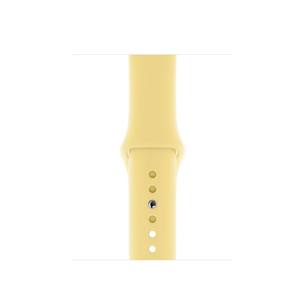 Apple 40mm Lemon Cream Sport Band - S/M & M/L (MWUU2ZE/A)