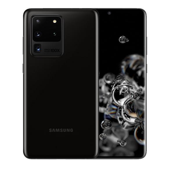 "SAMSUNG MOBILE PHONE S20 ULTRA 5G, OCTA CORE , 6.9"" 512GB 5G, BLACK (SMG988W-512GBBK)"
