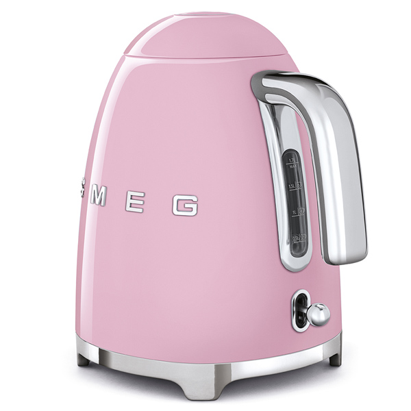 Smeg Kettle Pink ,50's Retro Style Aesthetic (KLF03PKUK)