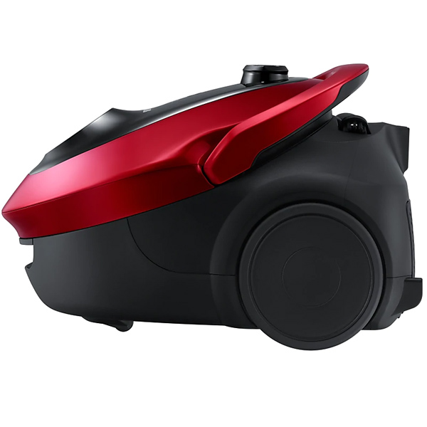 Samsung 2000 Wts/450 Wts,2.5 Ltrs duct, Red, Exhaust Filter Canister Bag Vacuum cleaner (SC20M2530WR)