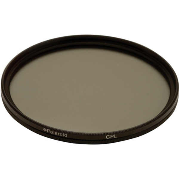 Polaroid 72mm Circular Polarizer Filter (PLFILCPL72)