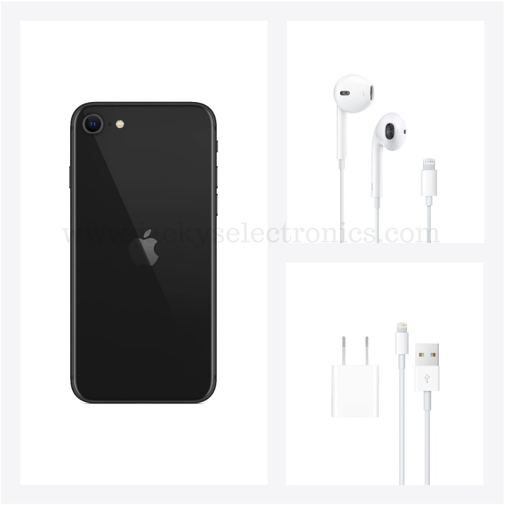 Apple iPhone SE 2nd generation 64GB Black MX9R2AE/A