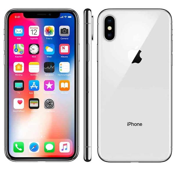 Apple iPhone Xs 64GB Smartphone, Silver (MT9F2AE/A)