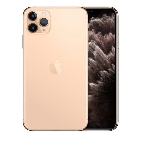 Apple iPhone 11 Pro Max With FaceTime Gold 512GB 4G LTE - International Specs (MWHQ2/LLA-EC)
