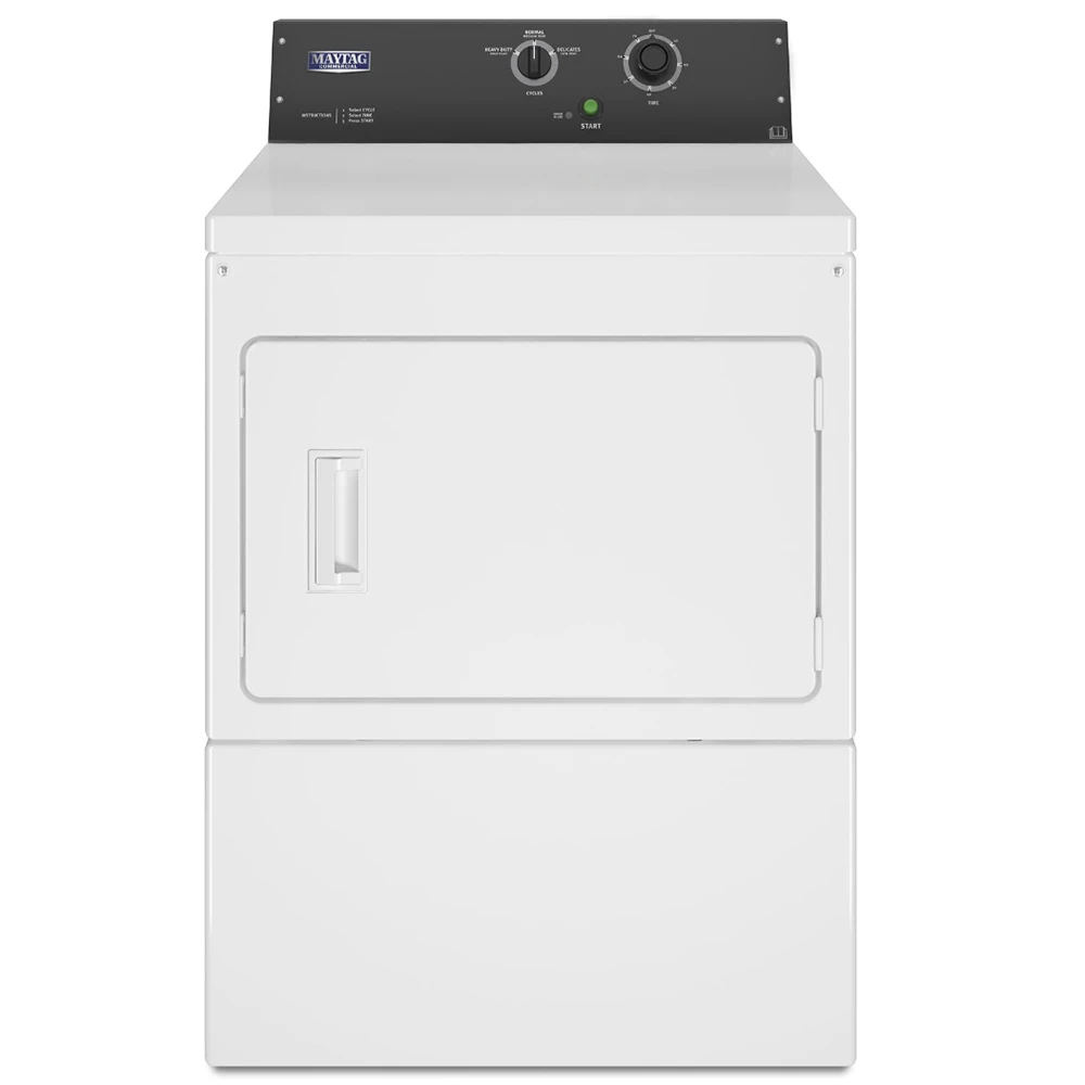 Maytag Commercial Electric Super-Capacity Dryer Non-Coin