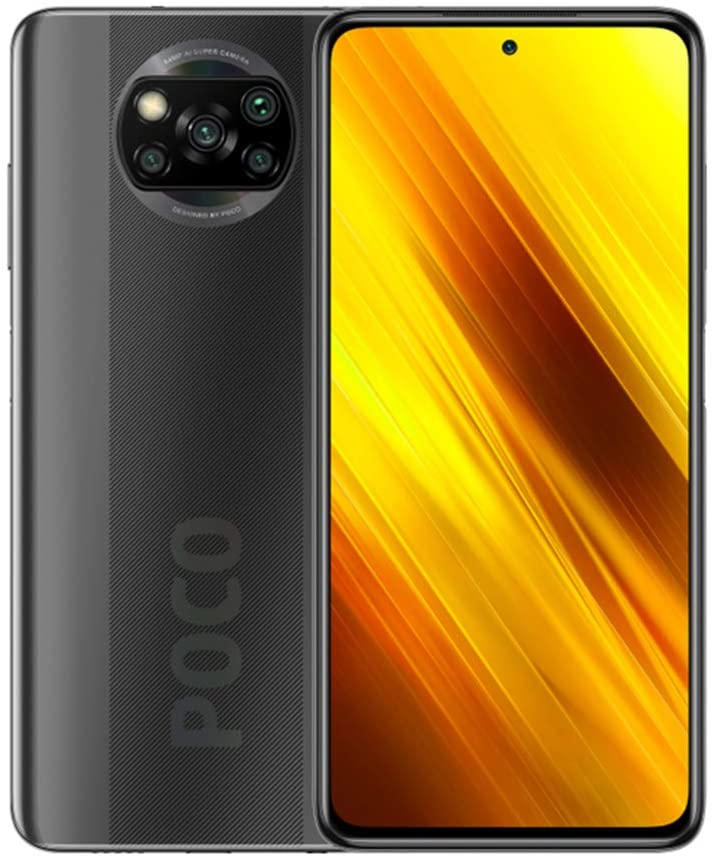 Xiaomi Poco X3 Smartphone NFC Dual SIM 6GB RAM 128GB Global Version  Interstellar Grey Pocox3-128GBGY