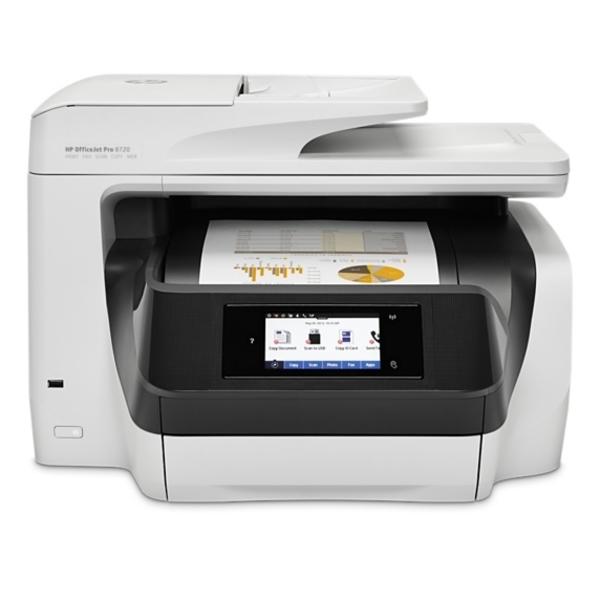 HP Officejet Pro 8720 All-in-one Printer (OJ8720)