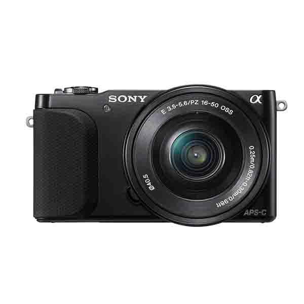 SONY CAMERA / DIGITAL -BLACK- WITH SELP1650 16-50MM LENS (NEX3NLBK)