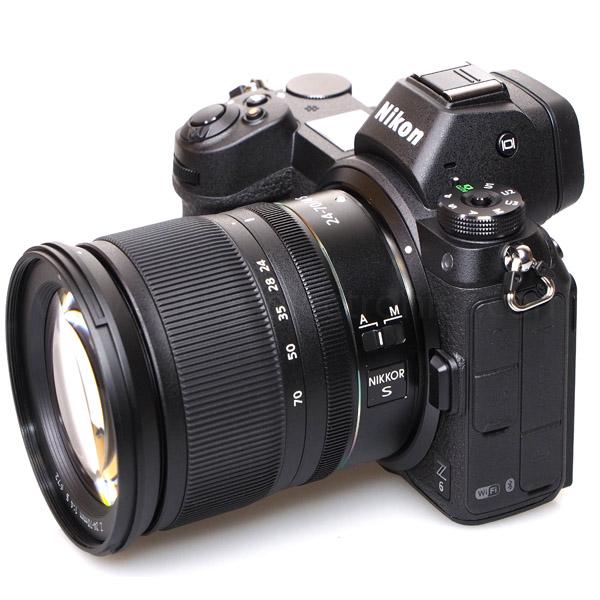Nikon Z6 + 24-70mm F4 + FTZ Adaptor  + 64GB XQD  + NPM + 5X Nikon School