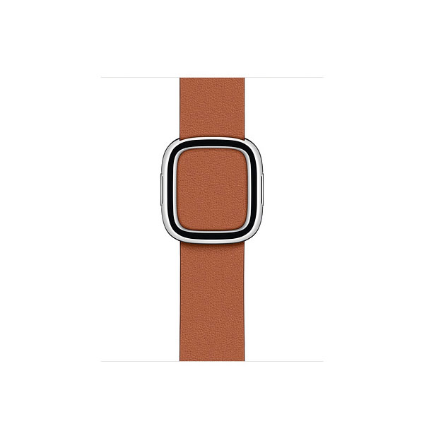 Apple 40mm Saddle Brown Modern Buckle - Small (MWRC2ZE/A)