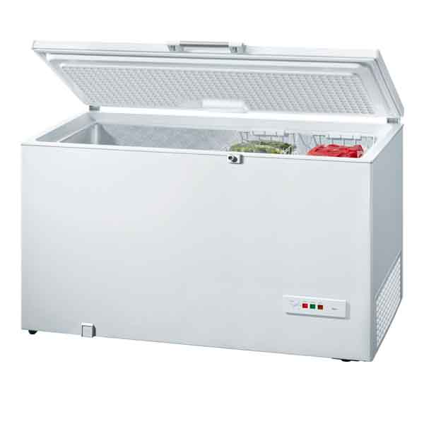 Bosch White chest freezer, 301Ltr (GCM28VW20M)