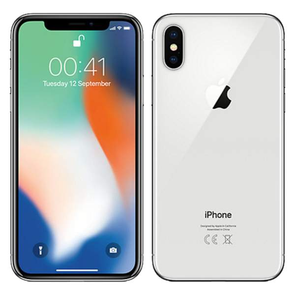 Apple iPhone X 256GB Silver (IPX-256SL-EC)