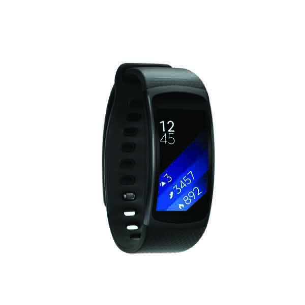 Samsung Gear Fit2 Large, Black (SM-R3600DAAXSG)