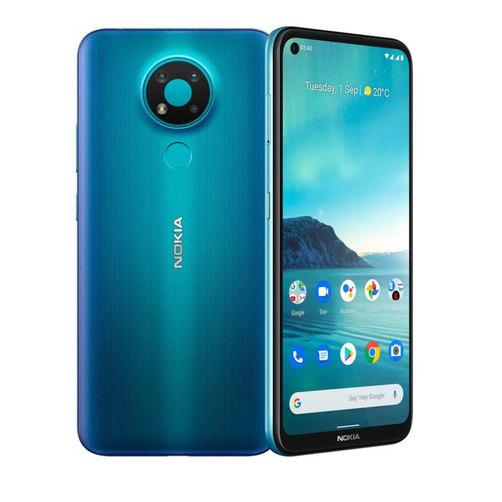 Nokia 3.4 Smartphone, Blue -  NOKIA3-4W-64GBBL