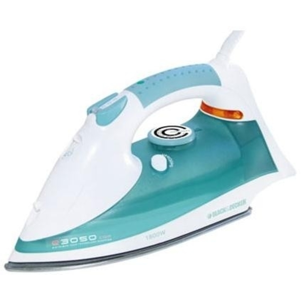 Black and Decker X810 220 Volt Stainless Steel Soleplate Steam Iron (X810)