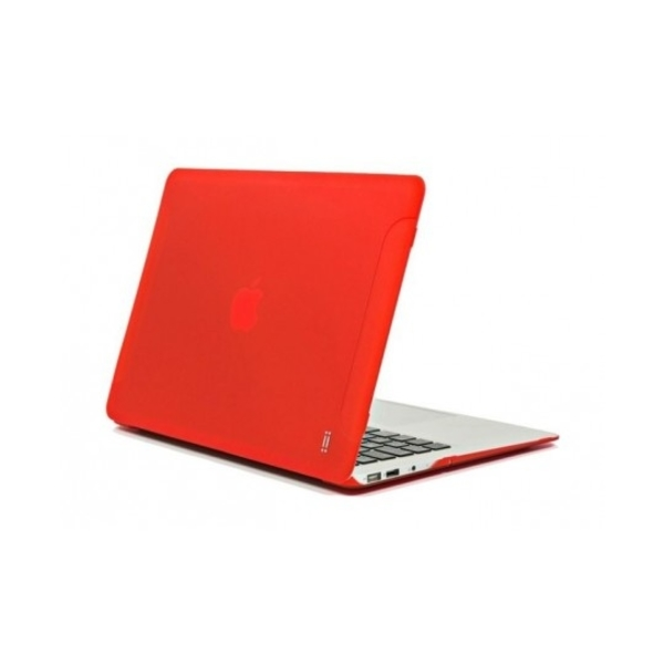 "AIINO MACBOOK AIR HARD CASE 13"" / RED (AIMBA13M-RED)"