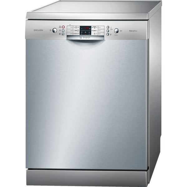 Bosch Serie 6 Free-standing dishwasher silver inox (SMS68L08GC)