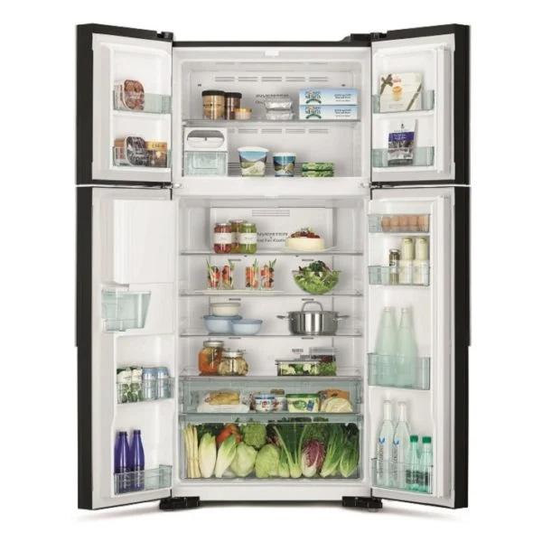 Hitachi French Door Refrigerator 760 Litres (RW760PUK7GBK)