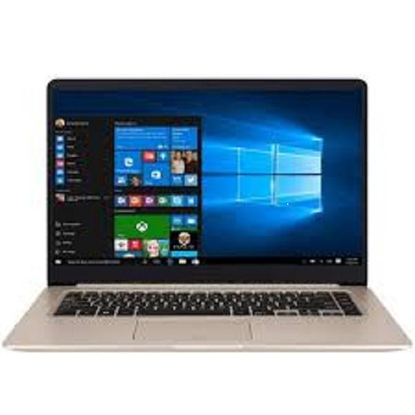 Asus VivoBook S510UF-BQ022T Laptop - Intel Core i7-8550U, 15.6-Inch FHD, 1TB, 8GB, 2GB VGA-MX130, Eng-Arb-KB, Windows 10, Gold Metal (S510UF-BQ022T)