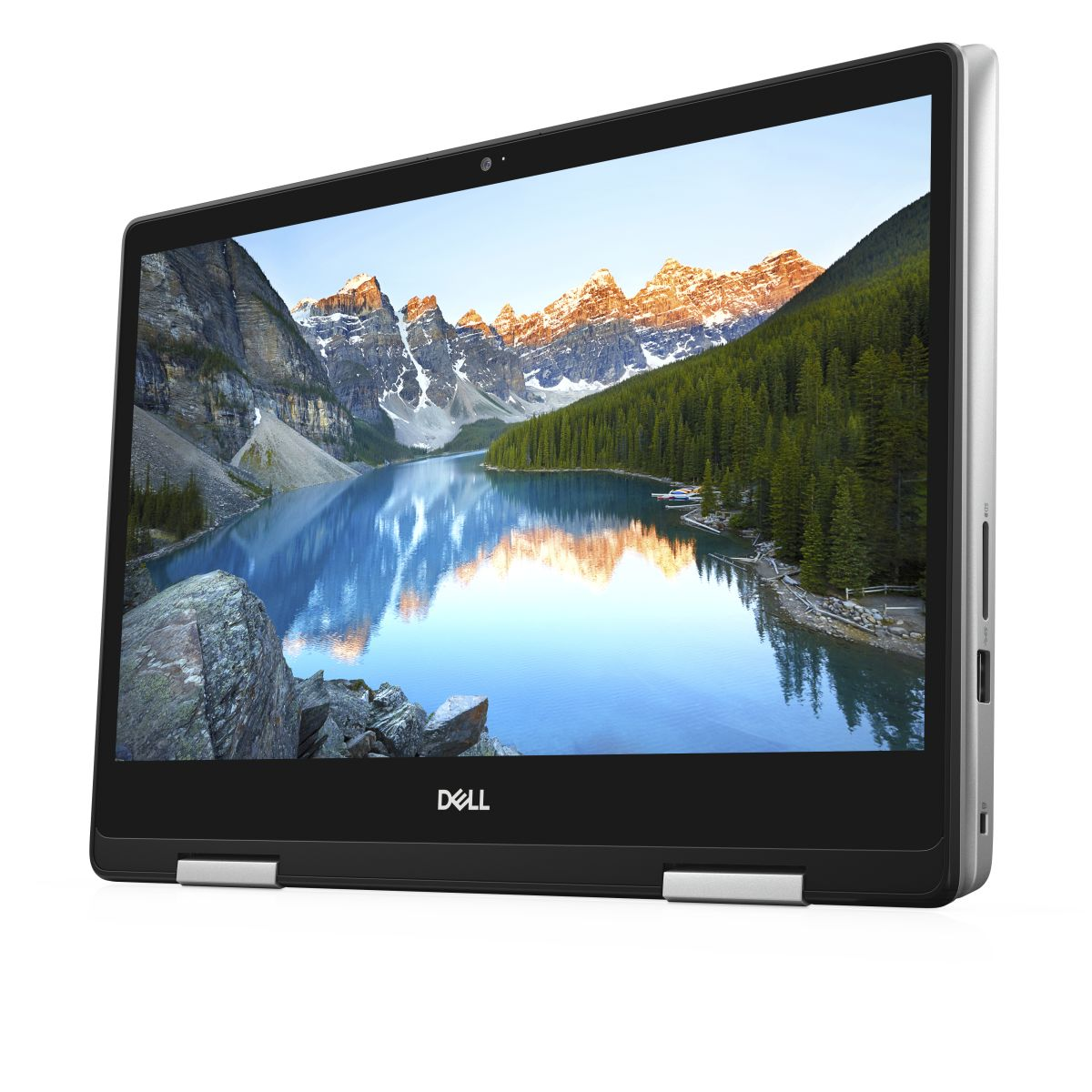 Dell Inspiron 15 5491-INS-2034 2in1 Notebook, Intel Core i3-10110U, 4GB RAM, 256GB SSD, 14 Inches Touch Display, Intel CML-U UMA, Windows 10 Home, Silver