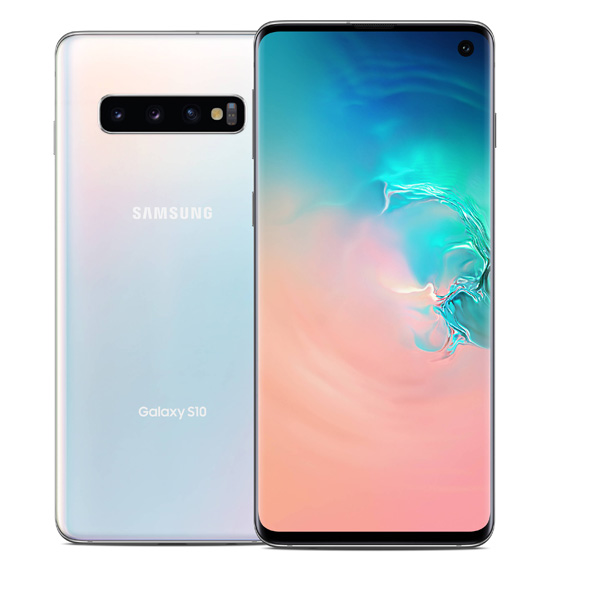 Samsung S10 128GB Octa Core 2.7GHz-2.3GHz-1.9GHz White (SMG973FW-128GBW)