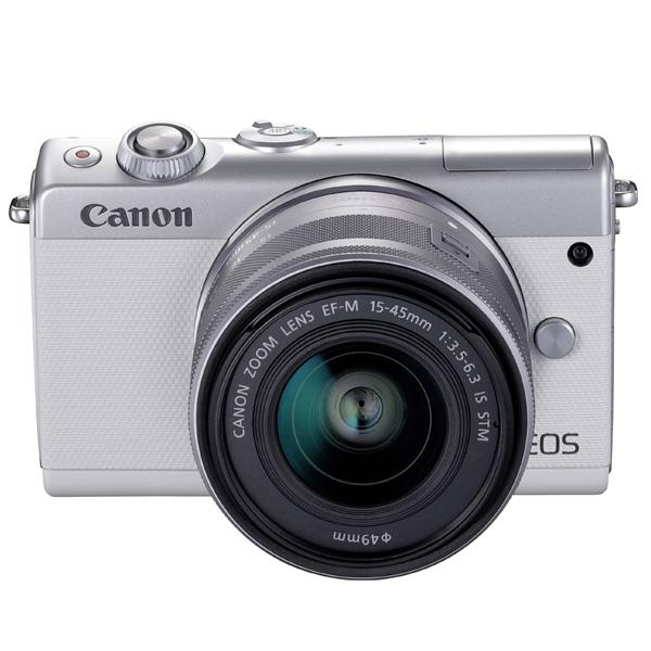 Canon EOS M100 White EF-M15-45S (EOS M100)
