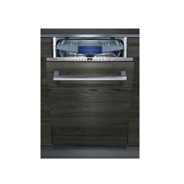 Siemens Q300 Dishwasher fully integrated ,8 Programme 12+1 PS Dishwasher Silver (SN636X10NM)