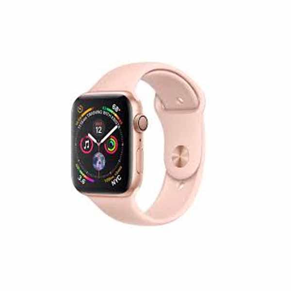 Apple Watch Series 4-40 mm GPS Gold Aluminium Case With Pink Sand Sport Band (MU682-EC)