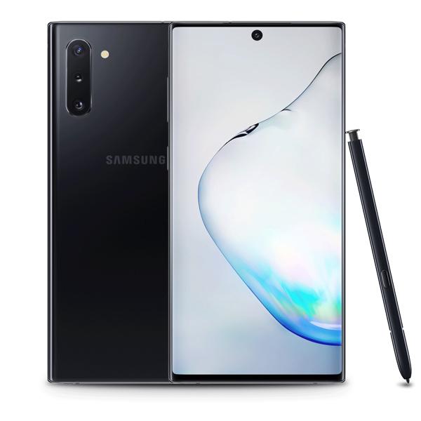 Samsung Galaxy Note10 Plus Dual SIM Aura Black 256GB 12GB RAM 5G LTE (SMN976W-256GBB-EC)