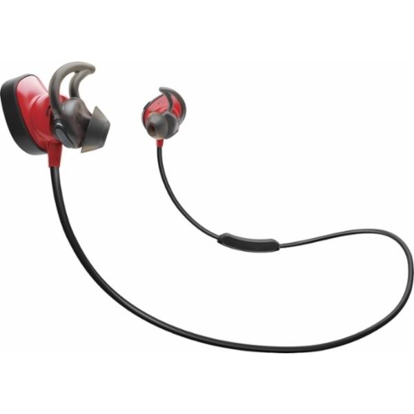 Bose SoundSport Pulse Wireless Headphones - Red (BOSE-SSPULS-RD-EC)