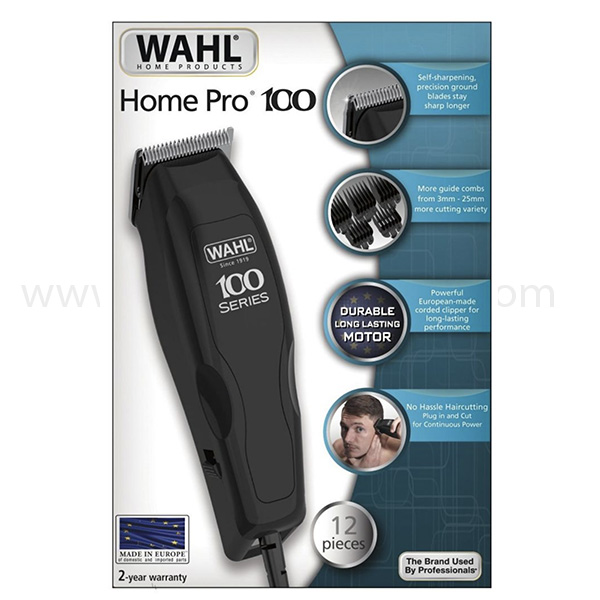 Wahl Home Pro Hair Clipper - Black (1395-0410)