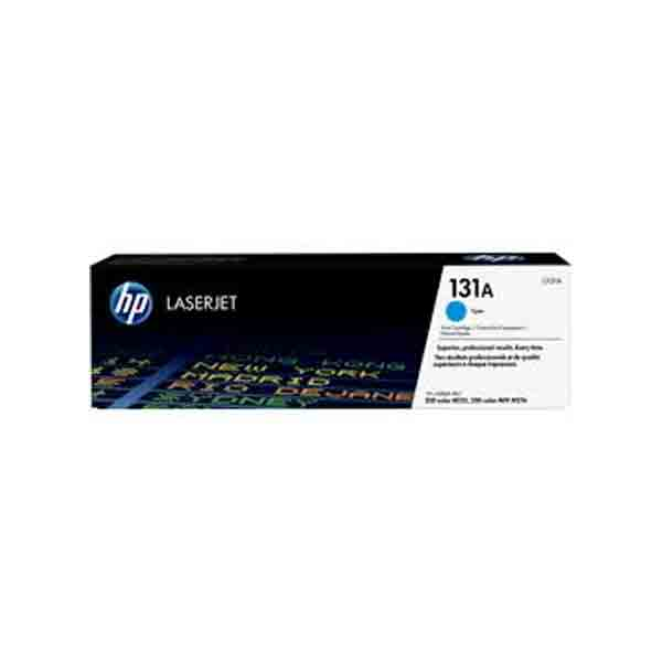 HP 131A Cyan Original LaserJet Toner Cartridge CF211A