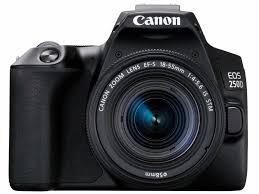 Canon EOS250D EFS 18-55MM DC III Black KIT (EOS250D)