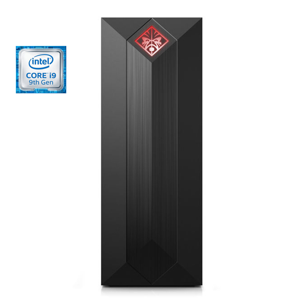 HP OMEN Obelisk 875-1002NE Desktop – Core  i9-9900 3.6GHz 32GB 3TB+512GB 8GB NVIDIA GeForce RTX 2000 Series Win10 Black (DT875-1002)