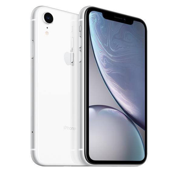 Apple iPhone XR 64GB Smartphone, White (IPXR64GB-WH-EC)