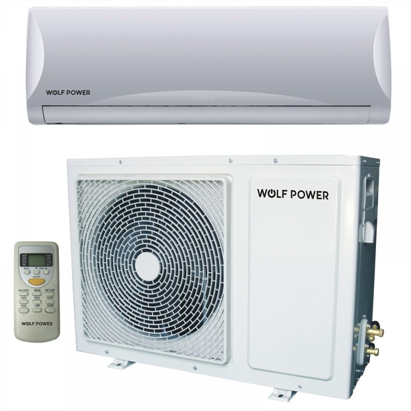 Wolf Power 2.5 Ton Split Air Conditioner with Piston Compressor, White (WSAC30PCH)