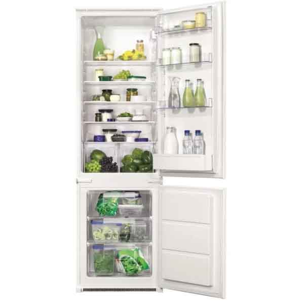 Zanussi Built In Bottom Freezer 271 Litres (ZBB28450SA)
