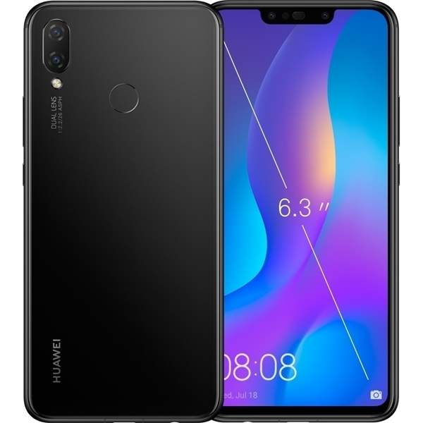 Huawei Nova 3i Smartphone, Black (NOVA3IW-BK)