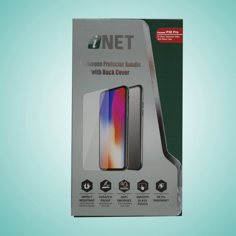 INET HUAWEI P30 LITE 2.5D FULL GLUE WITH BACK COVER INTGBC13P30L
