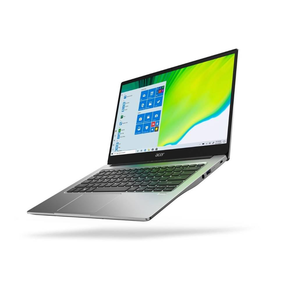 ACER NoteBook A3-AMD Ryzen 3 8GB RAM 256GB SHARED GRAPHICS 14 inch SCREEN WINDOWS 10 Home SILVER A314-22-R9JM