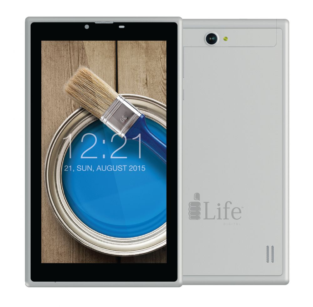ILIFE TABLET / 3500IGL,7'',8GB,3G,SILVER (IL-3500-SL)