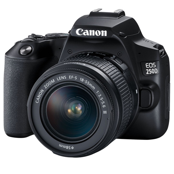 Canon EOS250D EFS 18-55MM DC III Black KIT (EOS250D)