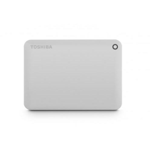 Toshiba 3TB Canvio Connect II - White (HDTC830EW3CA)
