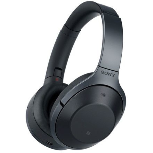 Sony Premium Noise Cancelling Wireless Headphones, Black (WH1000XM2-EC)