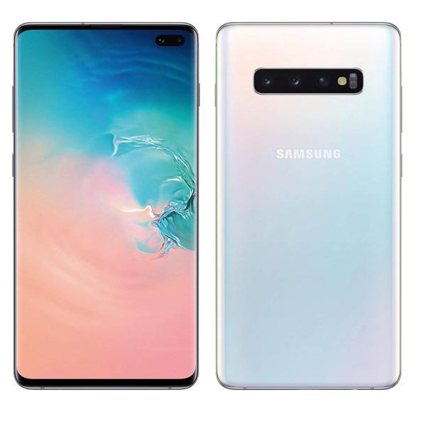 Samsung Galaxy S10 Plus Dual SIM Prism White 8GB RAM 128GB 4G LTE (SMG975FW-128GBWH)