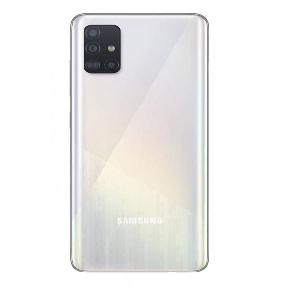 Samsung Galaxy A51 6.5inch 6GB 128GB LTE Smartphone, White SMA515FW-128GBWE