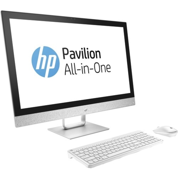 HP Pavilion All-In-One Desktop, 27 Inch FHD, Intel Core i7-7700T, 8GB RAM, 2TB HDD, Win 10 (27-R009)