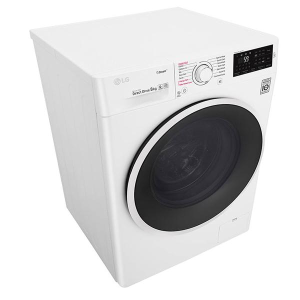 LG Washer & Dryer, 8 / 5 Kg, 6 Motion Direct Drive, Add Item, Smart Diagnosis™ (F4J6TMP0W)