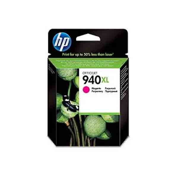 HP 940XL High Yield Magenta Original Ink Cartridge C4908AE